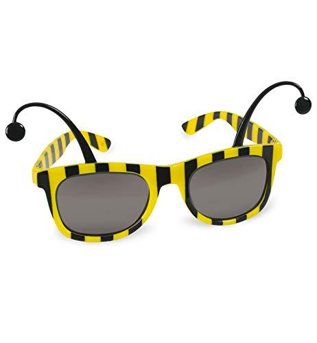 FASCHING 50354 Brille Biene Sonnenbrille gelb NEU/OVP