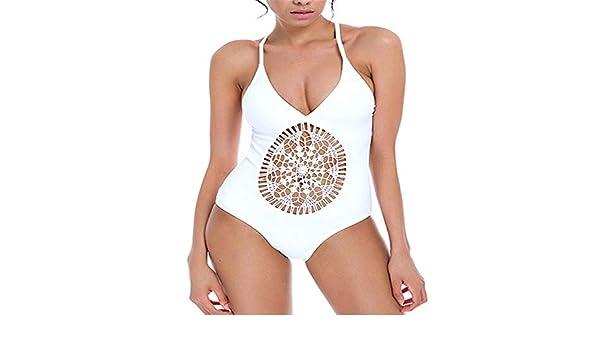 Lmycrs Women's One Piece Swimsuit Women One Piece Crochet