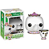 Figura POP Movies Vinilo: Disney Mrs Potts & Chip
