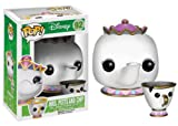Figura POP Movies Vinilo: Disney Mrs Potts & Chip