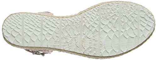PMS SPM Lexus Sandal, Sandales à bride et talon compensé femme Beige - Beige (Blush 007)