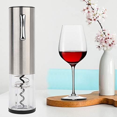 Regun Botella de Vino abridor, Botella Gris Original Sacacorchos Sacacorchos eléctrico automático...