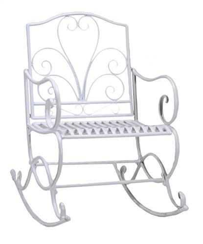 Preisvergleich Produktbild vacchetti Josef 6440130000 Schaukel Viareggio zerlegt,  Weiß,  60 x 80 x 98 cm