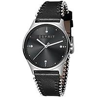 Esprit Reloj Analógico para Mujer de Cuarzo con Correa en Cuero ES1L032L0025
