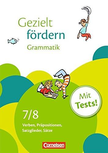 Gezielt fördern / 7./8. Schuljahr - Grammatik, 4. Dr.