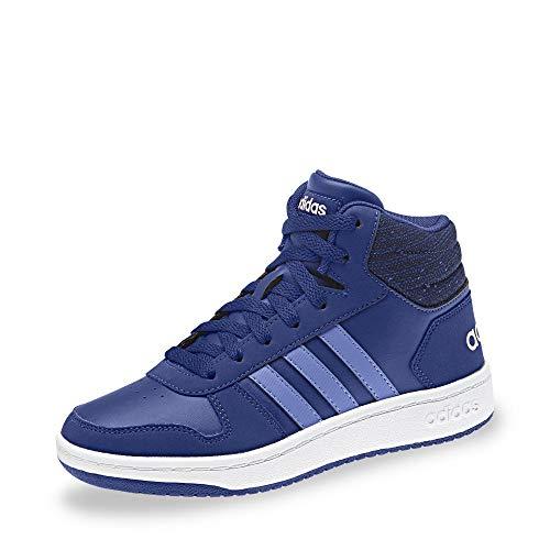 adidas Unisex-Kinder Hoops Mid 2.0 Basketballschuhe, Blau Mysink/Realil/Cleora, 40 EU