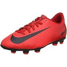 4314146612d17 Amazon.es  botas de futbol nike mercurial - Rojo
