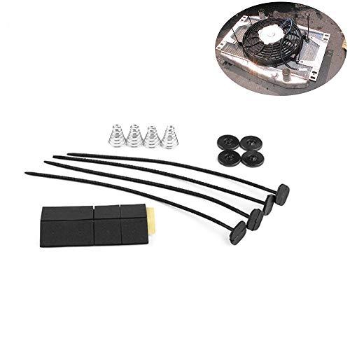 SHENLIJUAN Accesorios de piezas de ventilador de modificación de coche accesorios de...