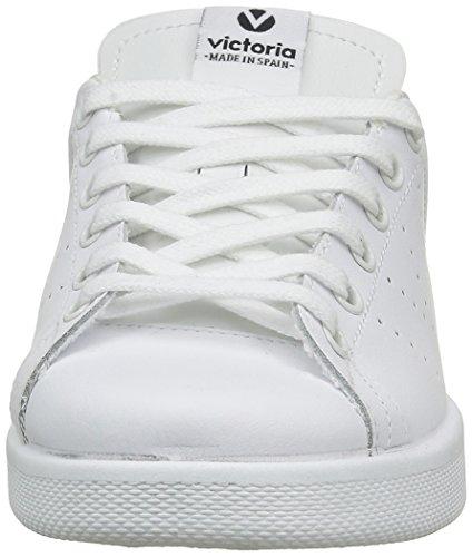Negro Sneaker schwarz Erwachsene Glitzer victoria Deportivo Unisex Basket weiß 10 Piel zngUqH