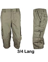 Herren Zip - Off Hose von SOUNON® - Verschiednen Farben