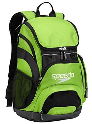 Speedo Teamster Mochila, Unisex Adulto, Verde, 35 l