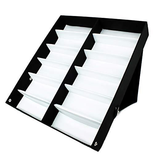 V von Vye 12PC Sonnenbrille Organizer Display Fall Halter-langlebig Brille Ablage Ständer