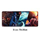 70X30Cm Dota 2 Mouse Pad Gamer Gaming Large XL Padmouse Gomma Notebook Lockedge Mouse Mat Tastiera Pad-3