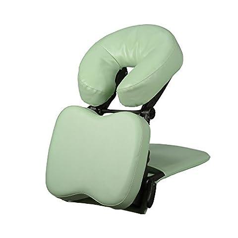 Habys Housse de mat pliable Système de support de massage, Vert clair
