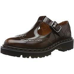 Art 1178 Florenti Cuero/Cambridge, Zapatos de Cordones Brogue para Mujer, Marrón, 37 EU