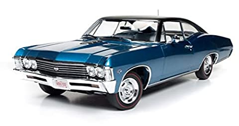 AutoworldAMM1083 1:18 1967 Chevrolet Impala SS 427 Limitiert 1002 Stk. Blau