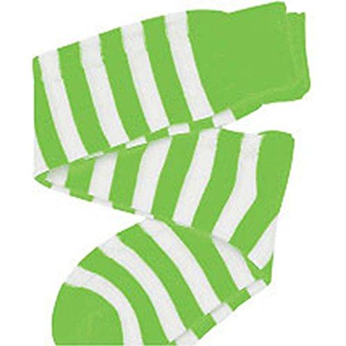 Dress Up America 458-GW Kinder Socken Kostüm Zubehör, Grün/weiß, - Grüne Dress Up Kostüm