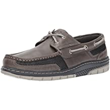 Sperry Top Sider Men s Tarpon Ultralite Boat Shoe Grey 7.5 Medium US
