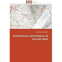 Annotations sémantiques et services Web