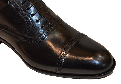 Hugo Boss , Chaussures de ville à lacets pour homme Noir