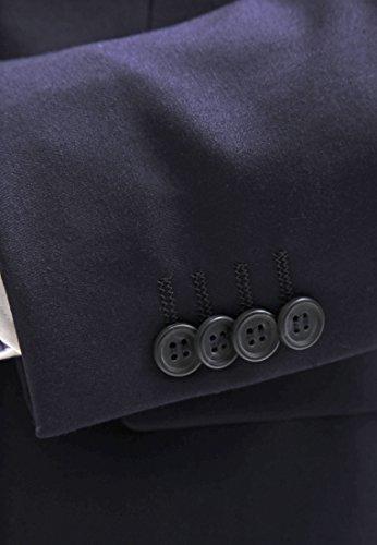 Anzug Herren Slim Fit Blau / Schwarz / Grau
