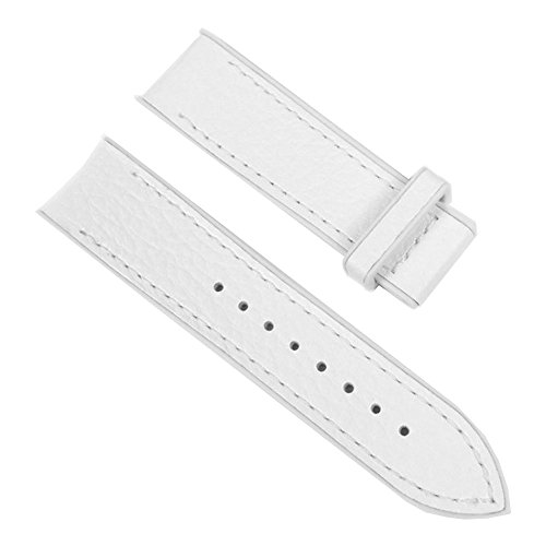 Festina Ersatzband Uhrenarmband Leder Band 23mm Weiß F16125/7 F16126 F16232
