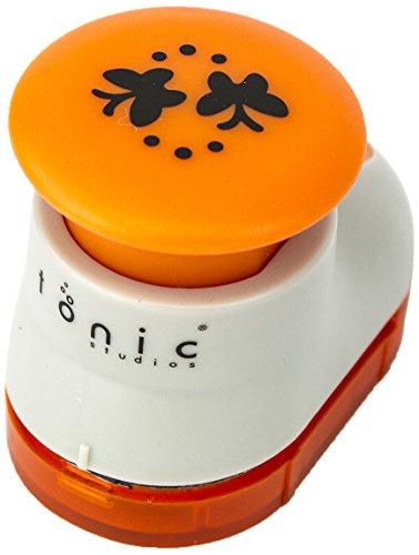 Unbekannt Tonic Studios Motivstanzer, Medium, 861E Schmetterling Muster, weiß/Orange (Boot Studios Tonic)