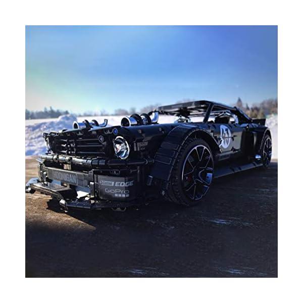 Tosbess Technic Auto Sportiva Ford Mustang, 3168 Pezzi Blocchetti di Costruzione Compatibile con Lego Technic 5 spesavip