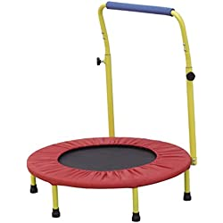 Mini cama elástica trampolín para niños por SEDCO-perfecto para niños-Fitness ejercicio equipo de seguridad para niños-Accesorios de gimnasia para tanto para uso en interiores y exteriores