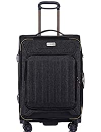 b818848313 Jeep Luggage Tundra 2018 Soft Case 3 Piece Suitcase Travel Trolley Tourist  Bag with Spinner Wheels