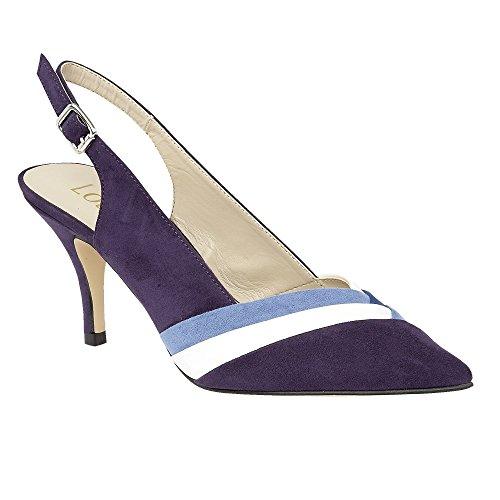 Lotus Dulina Womens Sling Back Sandals 7 Blue Multi