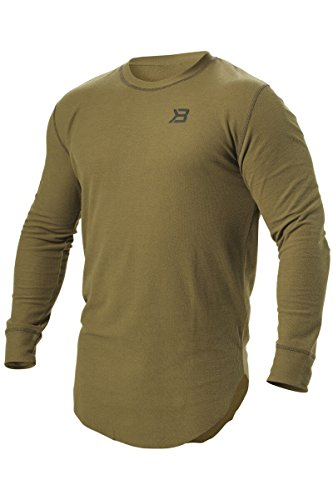 Better Bodies Harlem Thermal Longsleeve Military Green Long Sleeve Thermal Body