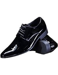 Galax - Chaussure Derbie Gh2019 V Black Patent