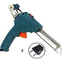 Handheld Lötpistole Halbautomatisches Schweißbrenner Schweißwerkzeug Schnell Heizen Zinn Draht Halterung Grün Blau 220V EU-Stecker