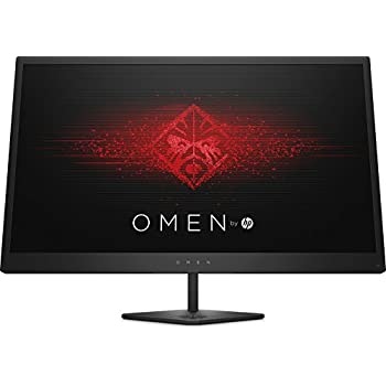 HP OMEN 25 Monitor Gaming, Full HD, 1920x1080, Retroilluminazione LED, Nero