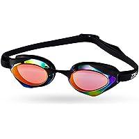 LE Occhiali da vista Uomo e donna Miopia piatta Occhiali da nuoto Cuffia HD per adulti Impermeabile Attrezzatura per il nuoto,G