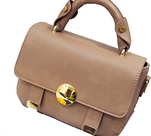 YCMDM Femmes Mode Nouveau sac à bandoulière petit sac Pink