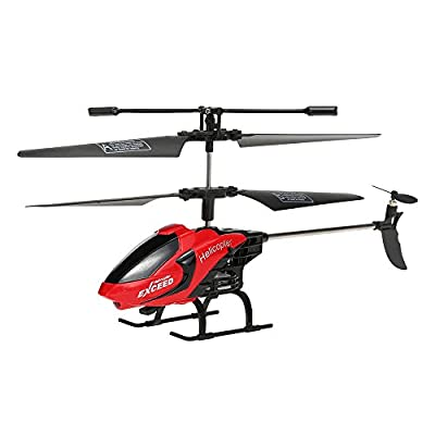 GoolRC Remote Control Helicopter Toys with LED Light Navigation & Gyroscope Stabilizing System Indoor/Outdoor RC Helicopter by GoolRC