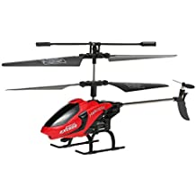 GoolRC Remote Control Helicopter Toys with LED Light Navigation & Gyroscope Stabilizing System Indoor/Outdoor RC Helicopter
