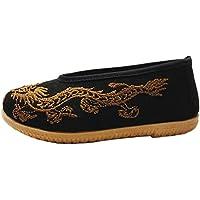 KVbaby Zapatos de Artes Marciales Kung Fu Zapatillas para Correr Niños Zapatillas de deporte