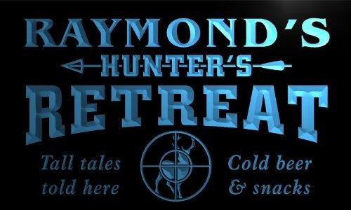 x0036-tm-raymonds-hunter-retreat-custom-personalized-name-neon-sign-enseigne-lumineuse