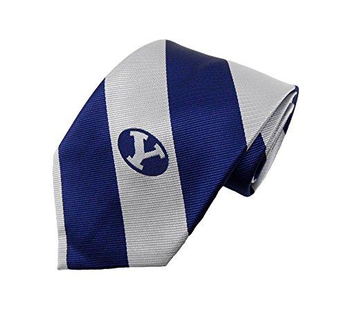 Donegal Bay NCAA BYU Cougar Streifen Krawatte, blau, One size