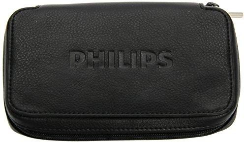 Philips Qualitats-Lederetui LFH91701 Leder Schutzhuelle Fuer alle Diktiergeräte und Voice Recorder