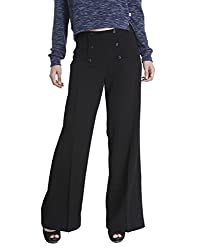 Only Womens Casual Pants (_5712837816888_Black_42_)