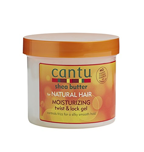 Bella-haar-gel (Cantu Shea Butter for Natural Hair Moisturizing Twist & Lock Gel 370g)