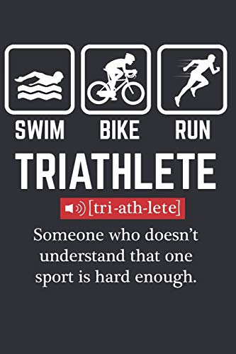My Triathlon Journal: Notebook for People enjyoing Triathlon