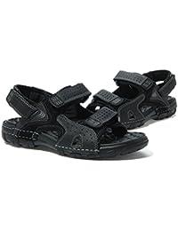 Scarpe sportive nere con chiusura velcro per uomo SK Studio