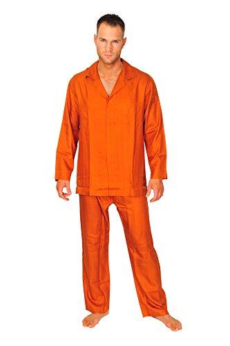 brioni-pajama-men-orange-silk-herringbone