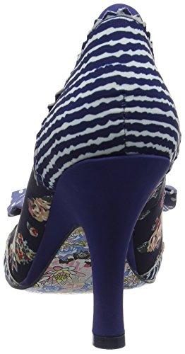 Irregular Choice Beach Trip - Scarpe con tacco da donna Blu