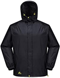 COX SWAIN Men Functional Outdoor Rain Jacket Neves - with hood, super light!